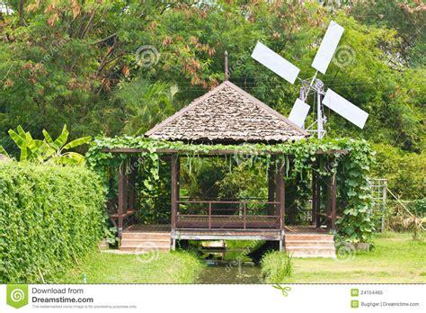 Thai Hut Garden 2 by Hut In The Garden Of Thai Royalty Free Stock Photo Image