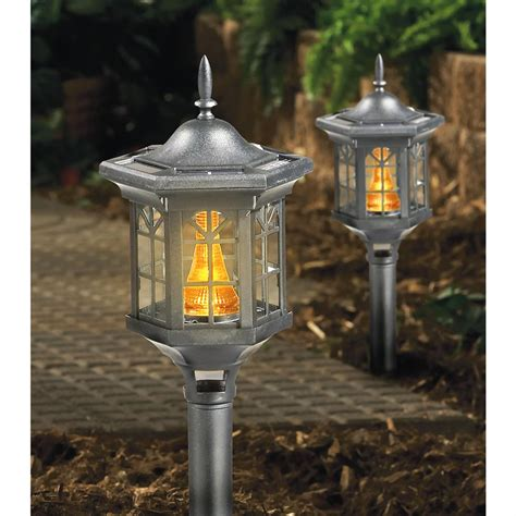 Westinghouse Landscape Lighting 2 Pk Westinghouse 174 Mediterranean Solar Lights Black 175077 Solar Outdoor Lighting At