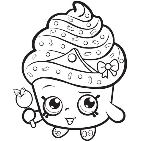 coloring pages of baby shopkins 16 unique and rare shopkins coloring pages of 2017