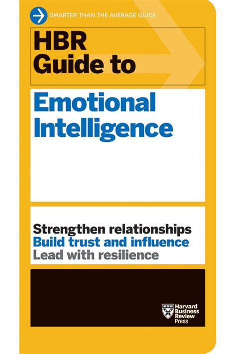 hbr guides to emotional intelligence at work collection 5 books hbr guide series books psychology hbr