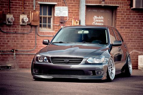 stanced lexus is300 white lexus is300 stanced on enkei nt03 s chris minshall flickr