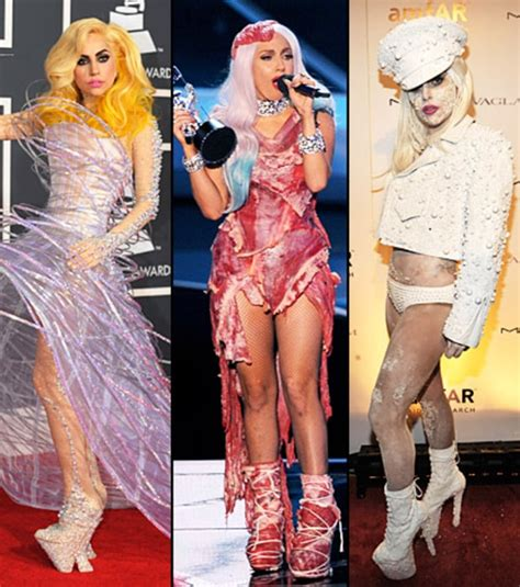 celebrity unique style lady gaga worst dressed celebs of 2010 us weekly