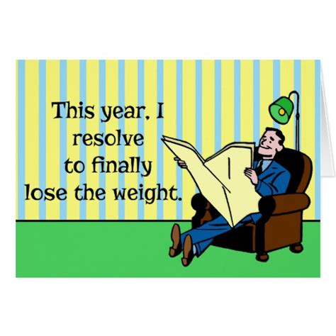 Weight Loss A New Year Resolution by New Year S Resolution Retro Weight Loss Zazzle