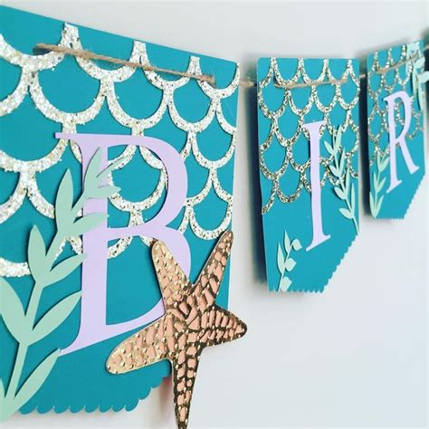 mermaid banner would be soooo for bid day craftaholic diy crafts banners
