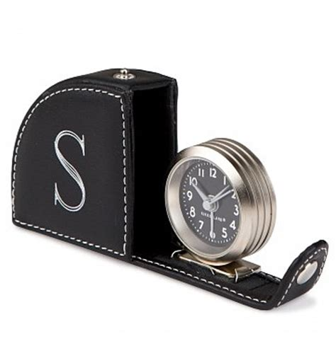 personalized travel alarm clock personalized keepsake gifts the gift of convenience
