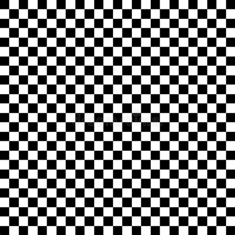 black and white check pattern black and white check pattern stock vector illustration