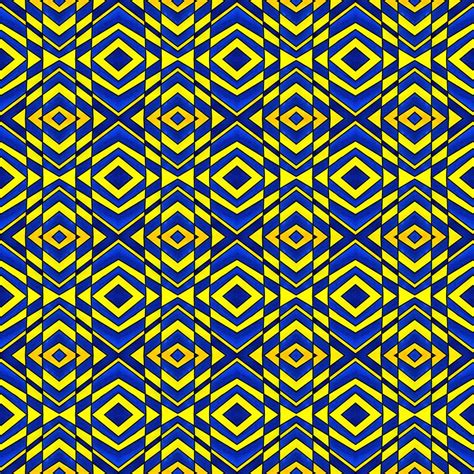 blue yellow pattern blue and yellow chevron pattern painting by hakon soreide