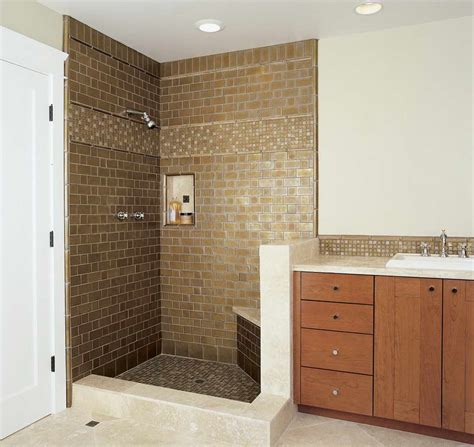 Pictures Of Bathroom Tile Designs by Miscellaneous 5 Creative Tile Shower Designs Ideas