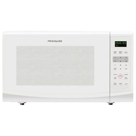2 2 Cu Ft Countertop Microwave by Frigidaire 2 2 Cu Ft Countertop Microwave In White