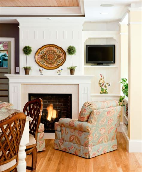 kitchen fireplace houzz kitchen sitting area traditional living room boston