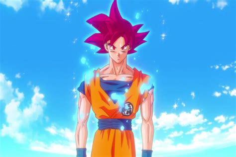 imágenes de dragon ball z dios dragon ball z goku se transforma en super saiyajin dios
