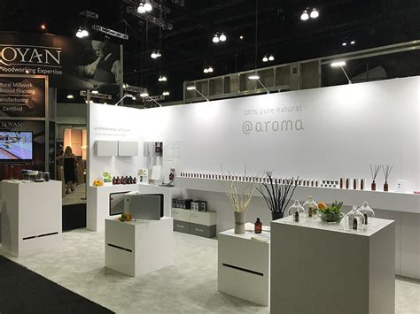 design booth inc at aroma trade show booth design key international