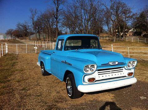 1958 chevrolet apache for sale 1958 chevrolet apache for sale oklahoma city oklahoma