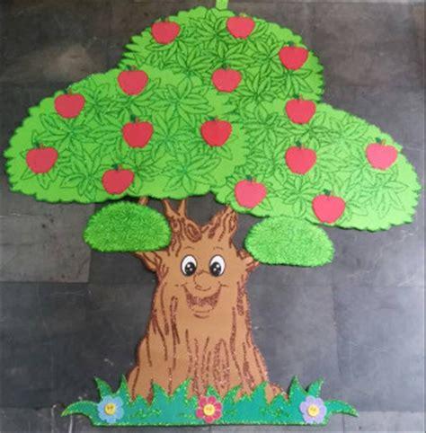 arbol hecho en fomix 193 rbol lector manzanas todo fomi