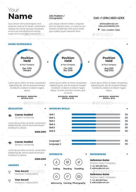 timeline infographic cv vector free download
