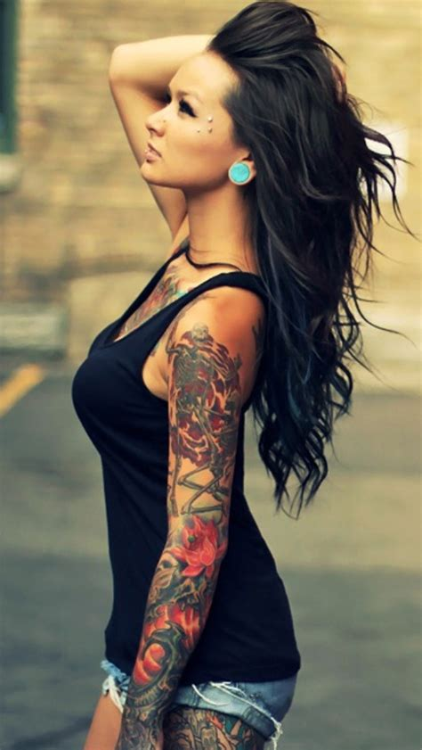 tattoo photo for girl girl tattoos girl tattoos sleeve
