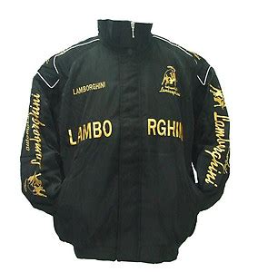 Lamborghini Racing Jacket Lamborghini Racing Jackets