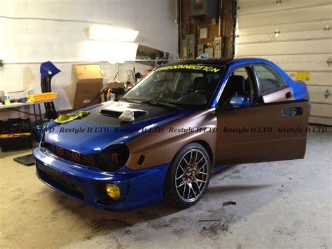 brown subaru metallic matte brown subaru impreza vehicle