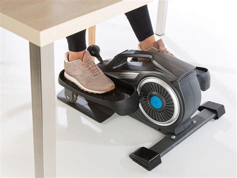 elliptical machine office desk skandika sit fit elliptical mini leg crosstrainer desk