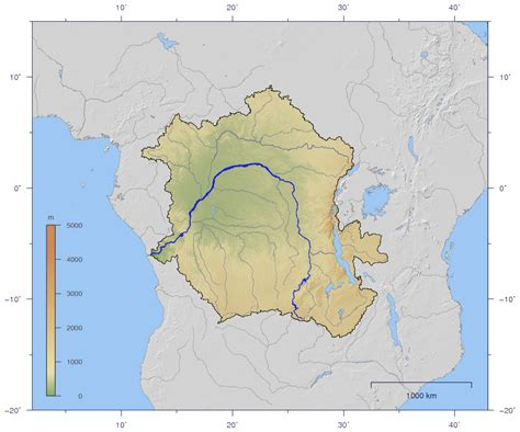 africa map zaire river researchers calculated that the middle east and