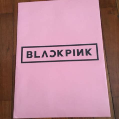 blackpink official merch blackpink official japan merchandise file k wave on carousell