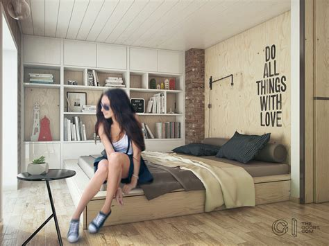 Home Design For Young Couple by One Bedroom Apartment For A Young Couple