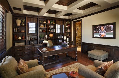 Traditional Home Interior Design by Superstition Mt Residence Traditional Home Office