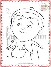 on the shelf colors coloring pages