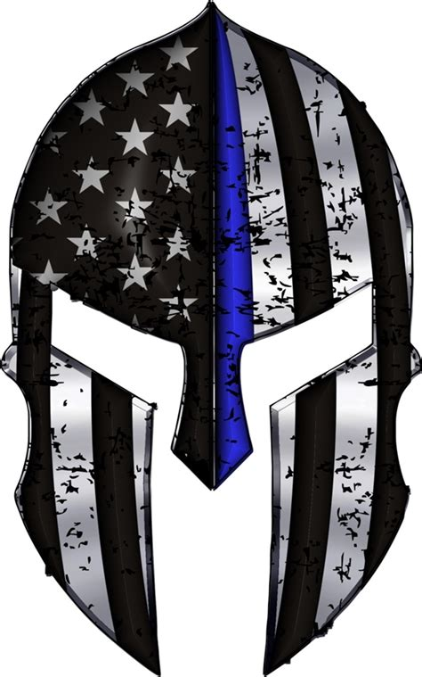 warriors bleed blue 174 spartan helmet metallic thin blue