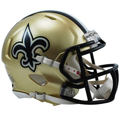 New Orleans Saints NFL Mini Speed Football Helmet Buy for Guys