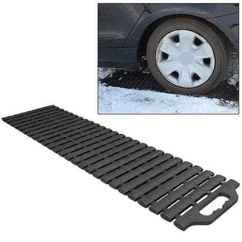 Tire Traction Mats by Friday Find Tire Traction Mat Drive Out Of Snow Easily