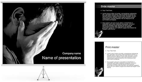 depression powerpoint template depression powerpoint template depression powerpoint