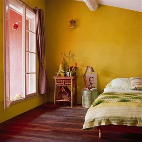 Mustard Yellow Paint Bedroom Mustard Wall Sweet Home