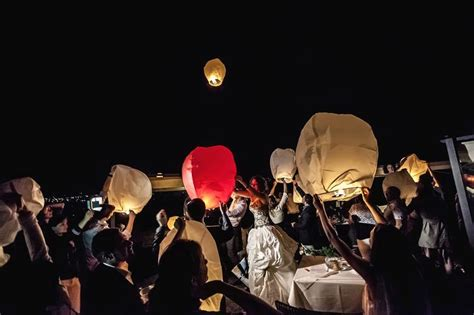 lanterne volanti bologna matrimonio a golf club siepelunga cristian mihaila