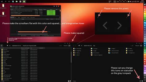 ubuntu dark theme for windows 10 rtm ubuntu dark theme for windows 10 rtm by cleodesktop on