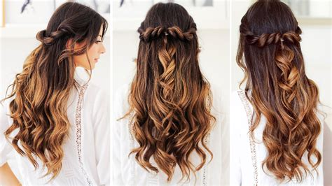 hairstyles that whisps in back and in the front twist back hairstyle luxy hair youtube
