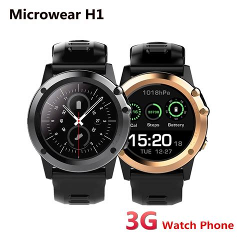 Smartwatch H1 microwear h1 3g smartwatch phone 1 39 quot android waterproof