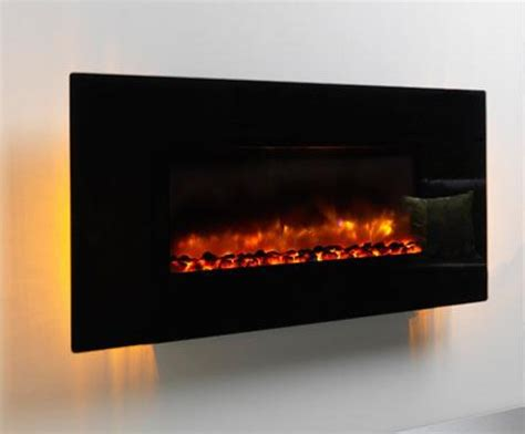modern electric wall fires be modern orlando led wall hung electric black