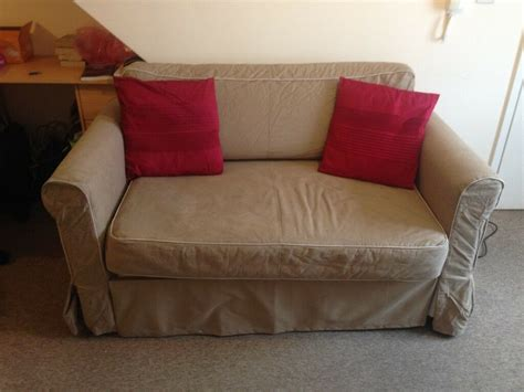 ikea hagalund sofa bed with storage draw and