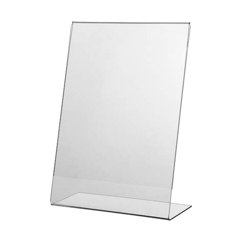 Sign Holder A4 1 acrylic single sided sign holder quot classic quot vkf renzel uk