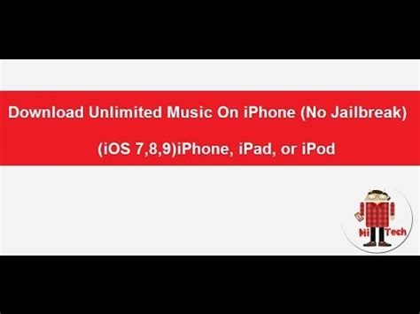 download youtube on iphone download unlimited music on iphone no jailbreak ios 10