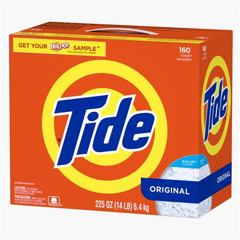 Soap Powder Tide Laundry Detergent Powder Original 225 Oz Bj S