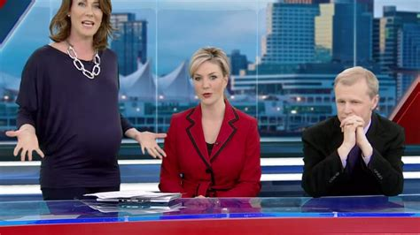 news and information about pregnancy parents today pregnant tv anchor responds to hate mail over maternity