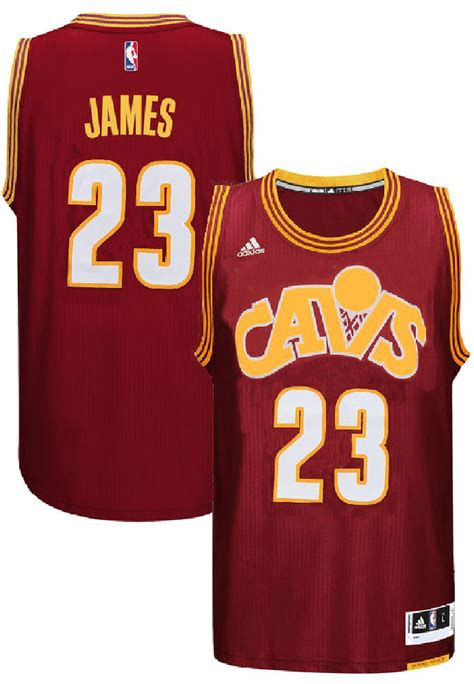 Youth Lebron James Cleveland Cavaliers Wine Adidas