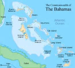 map of bahamas and florida bahamas caribbean birding trail