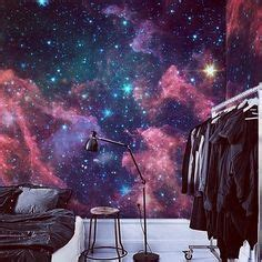 Wall Sticker Outer Space Jm8351 Stiker Dinding Wall Sticker sun moon wall decals outer space wall murals ind 2222 inspiration galaxy
