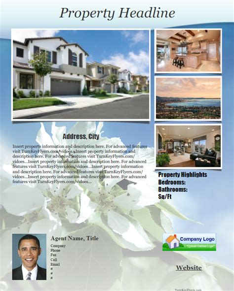 property brochure template real estate flyer brochure templates pdf format no