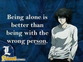 Best Sad L by Anime L Note Quote So True We How To