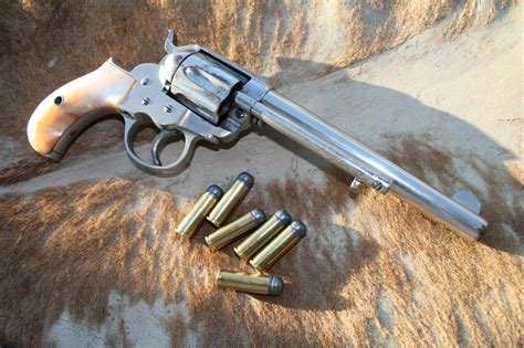 Ranch Style by Colt S First Double The Colt Model 1877 Shooting Times