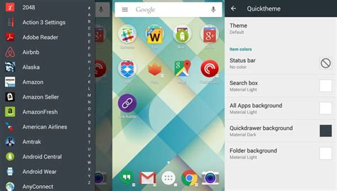 themes action launcher tutorial how to change the theme and icon on your